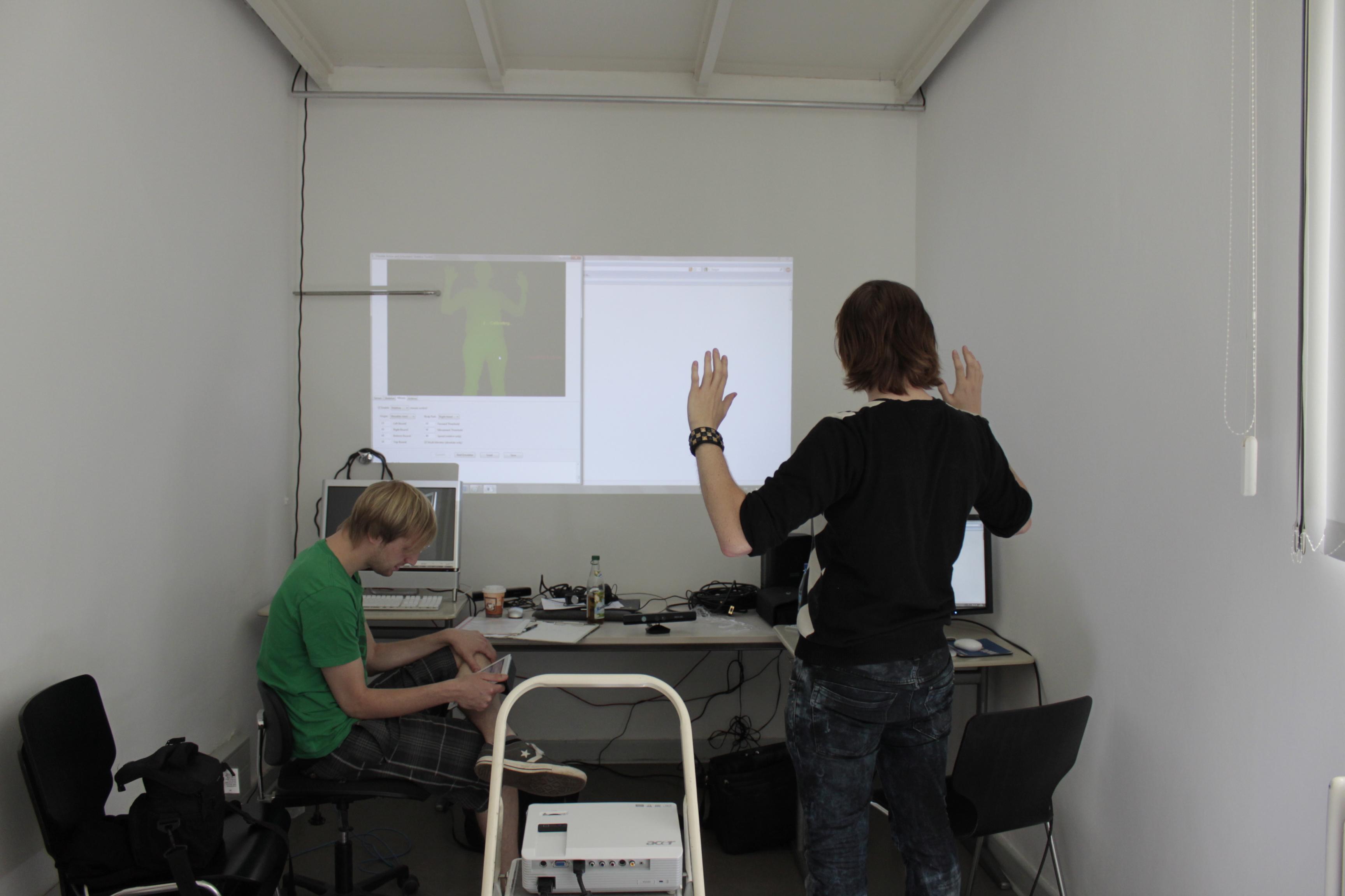 Programming Kinect Hack